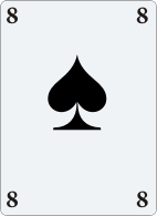 8 of spades for astrological evaluation