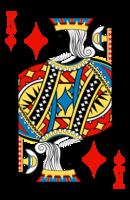 King of Diamonds Graphic