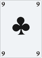 9 of clubs person